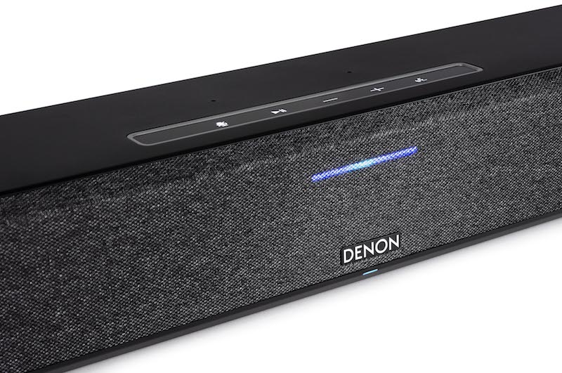Denon Home Sound Bar 550 Features to Dolby Atmos, DTS:X Audio, and HEOS