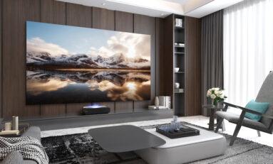 Hisense Adds 120-inch L5F Series Laser Cinema Ultra-Short Throw TV