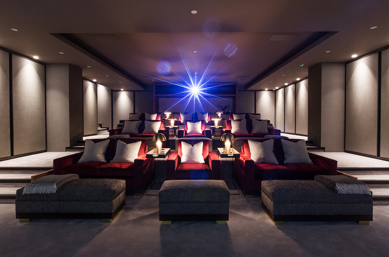 Luxury London Apartment Features Control4 and Triad Speakers in Jaw-Dropping Theater