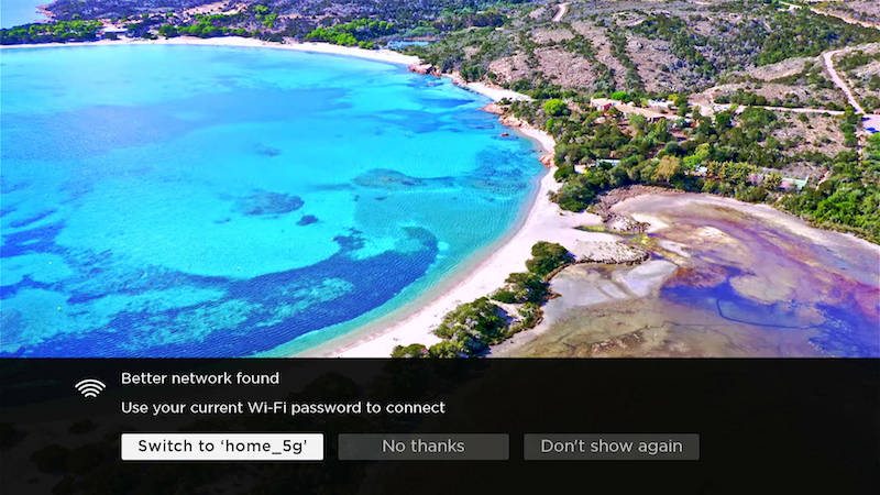 Roku OS 10 Auto Network