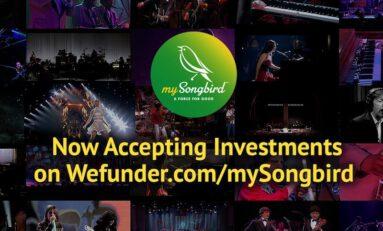 mySongBird Provides Concert-Specific Video Streaming Platform