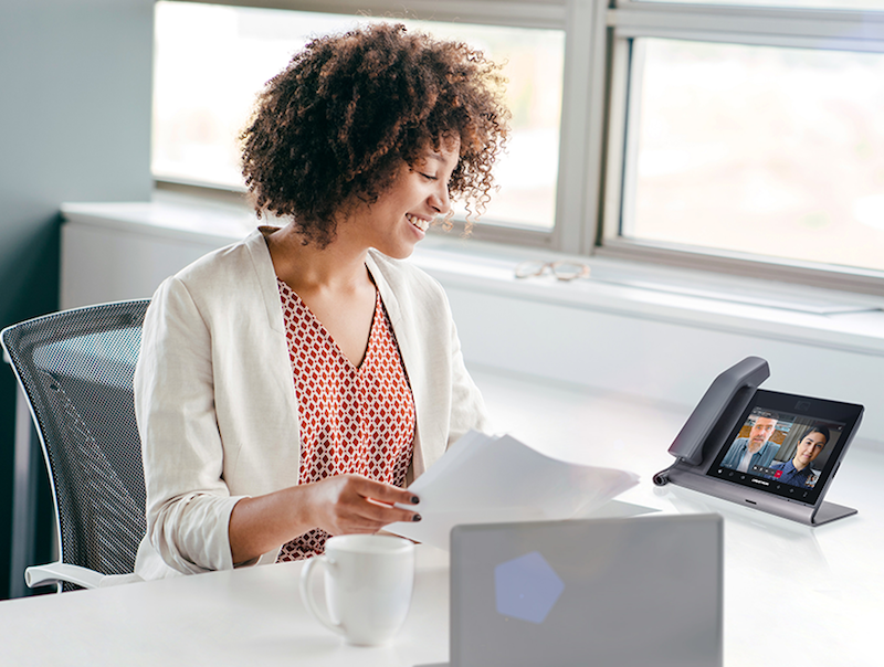 Crestron Flex Phones for Microsoft Teams was Designed for Hybrid Work