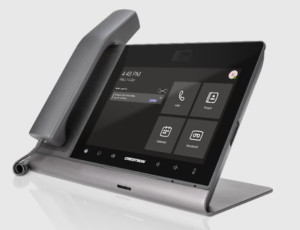 Crestron Flex Phones for Microsoft Teams - Tabletop with Handset - Silver