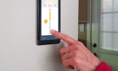 Somfy PoE Touch Panel Room Controller Designed to Improve User Experience