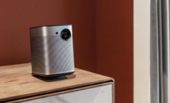 XGIMI Halo Projector and Elite Screens Enable Portable TV Option