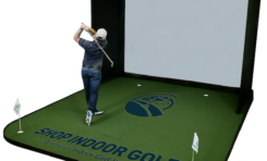 Shop Indoor Golf Debuts New Two-in-One SIGPRO Golf Simulator Flooring