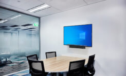 Versa Mediabar is ClearOne's All-in-One Pro-Quality Videoconferencing System