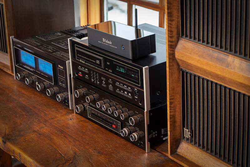McIntosh MB20 Transceiver Adds Bluetooth Streaming to Any Audio System