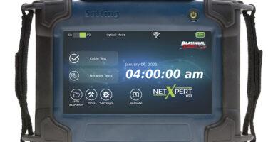 Platinum Tools NetXpert XG2 10G Network Tester Set for CEDIA Debut