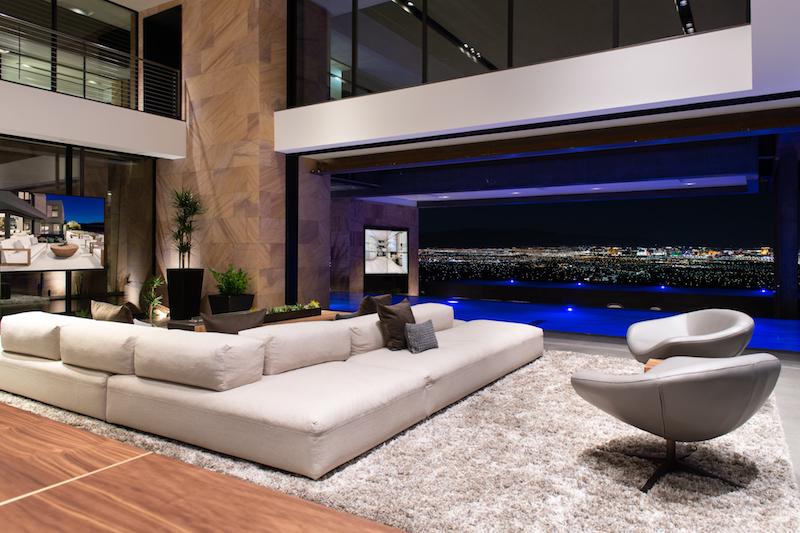 Vegas Modern interior view