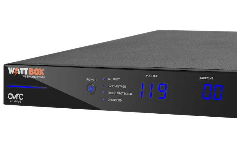 Snap One WattBox 800 Series Features Eight-Outlet 1U IP Power Conditioning