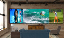 DVLED from LG Provides Wall-Sized 'Extreme Home Cinema'