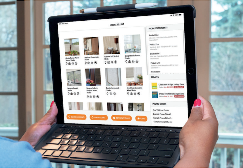 Hunter Douglas 'Links' Dealers to New Digital Hub, Selling App