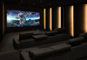 DVLED home theater