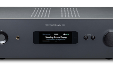 C 399 is a New HybridDigital DAC Amplifier from NAD