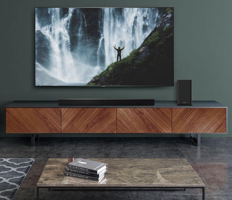 Hisense Adds Three New Roku TV Ready Soundbars